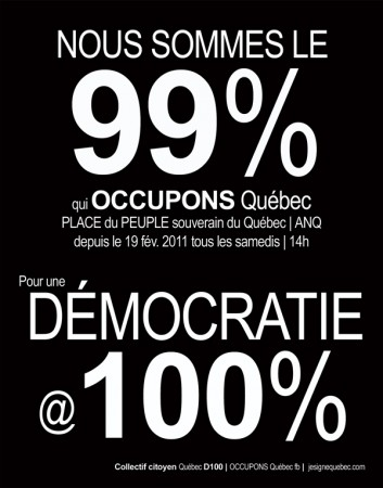 Occupons Quebec