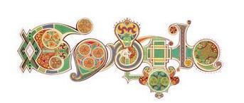 Doodle Google Saint-Patrick