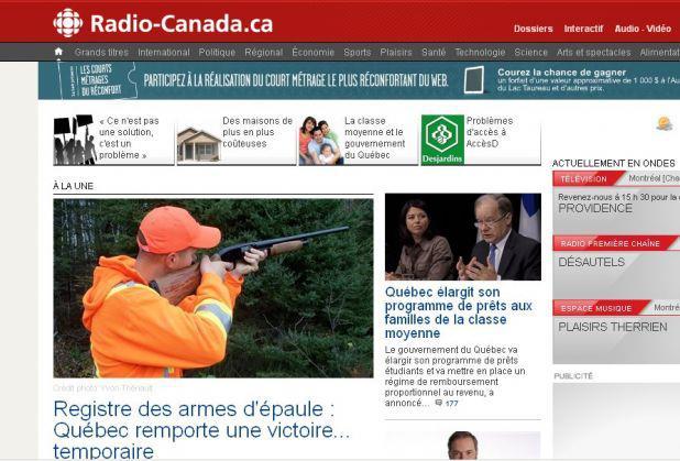 Arme - Line Beauchamp Radio-Canada
